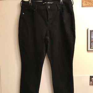 Old Navy black skinny jeans